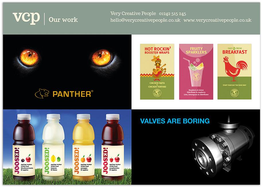 Very Creative People brochure